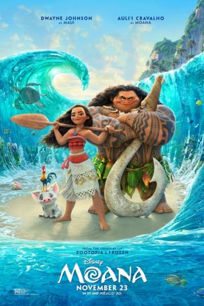 MOANA (2016) โมอาน่า ผจญภัยตำนานหมู่เกาะทะเลใต้ [Movie] พากย์ไทย