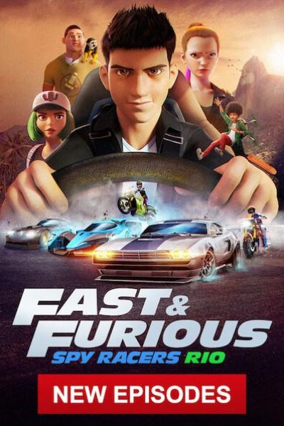 Fast & Furious Spy Racers เร็ว…แรง ทะลุนรก ซิ่งสยบโลก Season1 ตอนที่ 1-8 จบพากย์ไทย