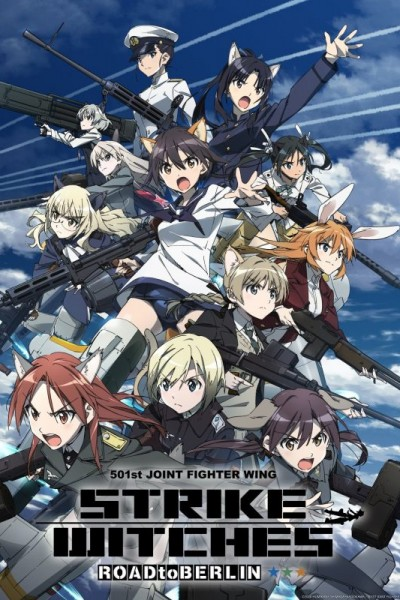 Strike Witches: Road to Berlin ตอนที่ 1-8 ซับไทย