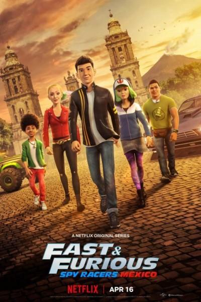 Fast & Furious Spy Racers Season4 เร็ว แรง ทะลุนรก ซิ่งสยบโลก ภาค4 ตอนที่ 1-8 จบพากย์ไทย
