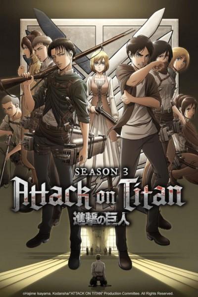 Attack on Titan (Shingeki no Kyojin) Season 3 ผ่าพิภพไททัน ภาค 3 ตอนที่ 1-22 พากย์ไทย จบแล้ว