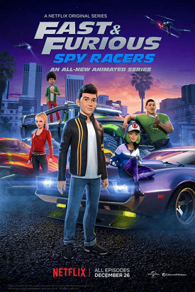 Fast & Furious Spy Racers Season3 เร็ว แรง ทะลุนรก ซิ่งสยบโลก ภาค3 ตอนที่ 1-8 จบพากย์ไทย
