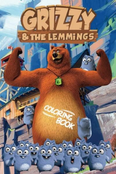 Grizzy and the Lemmings Season 1 กริซซี่ แอนด์ เดอะ เลมมิงส์ ภาค1 ตอนที่ 1-78 จบพากย์ไทย