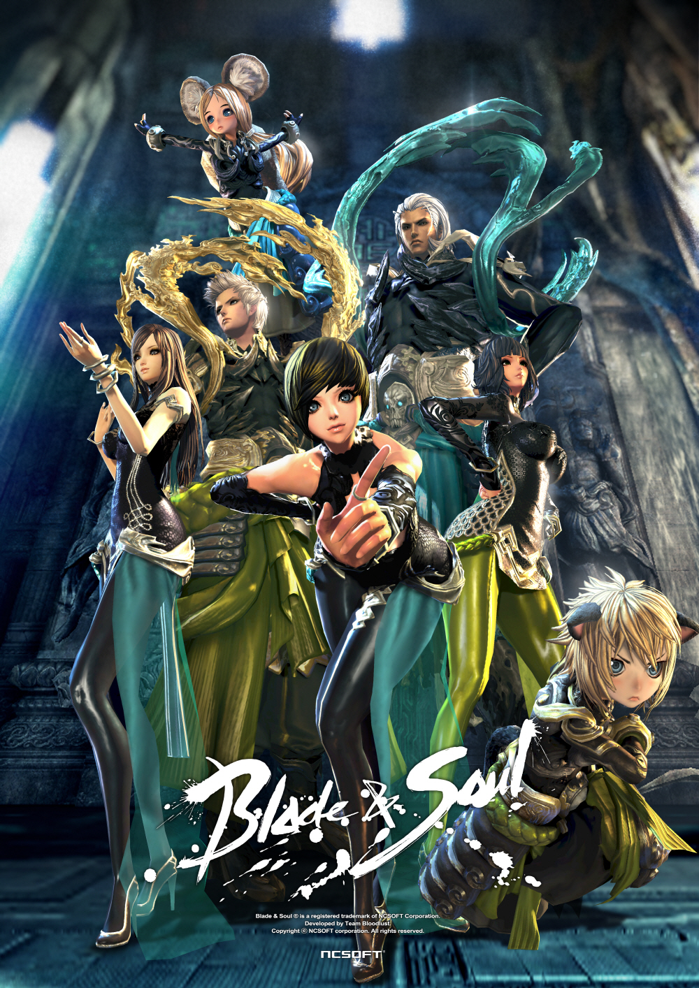Blade-Soul-Spiral-Labyrinth-gears-poster