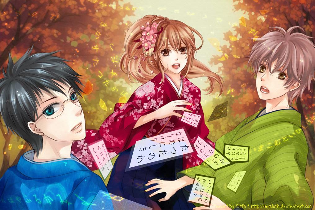 Chihayafuru จิฮายะ กลอนรักพิชิตใจเธอ ภาค 1-2