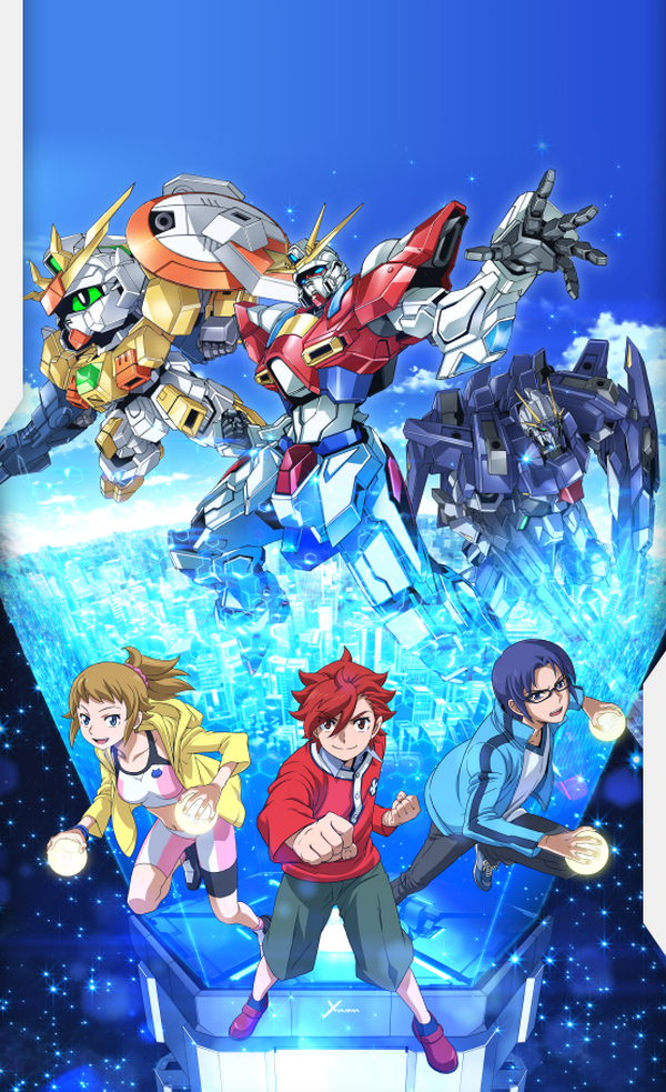 Gundam Build Fighters Try 4