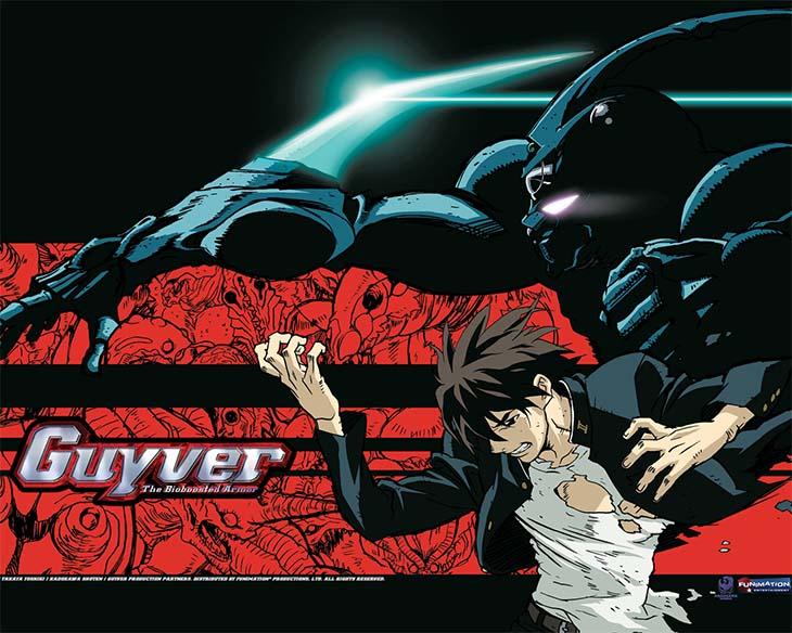 Guyver กายเวอร์ มนุษย์เกราะชีวะ