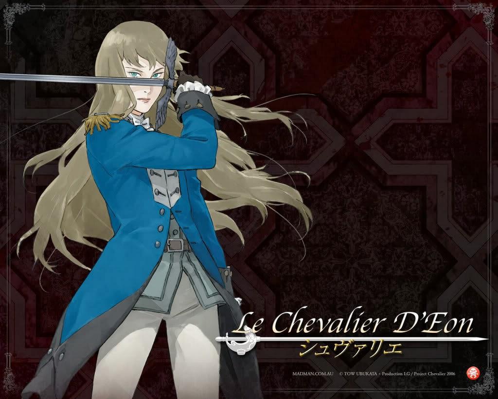 Le Chevalier D'Eon อัศวินสีเลือด