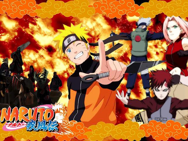 Naruto Shippuden นารูโตะ ตำนานวายุสลาตัน
