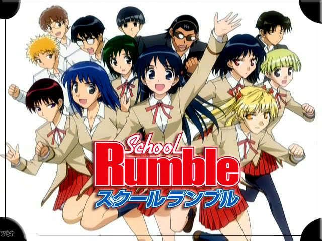 School Rumble สูตรรักฉบับนักเรียน ภาค 1-3