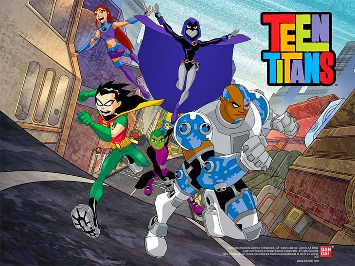 Teen Titans ทีนไททั่นส์